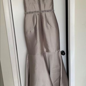 JS Collections Strapless Evening Gown Size 12